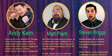 Comedy Extravaganza at Alice's Champaign Palace with TOP LA COMEDIANS tickets