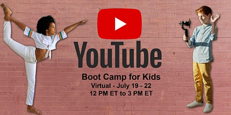 YouTube Video Boot Camp tickets