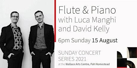 Sunday Concert Series: Luca Manghi Flute tickets