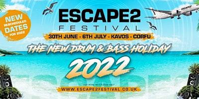 Escape2 Festival - Corfu Poster