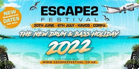 Escape2 Festival - Corfu tickets