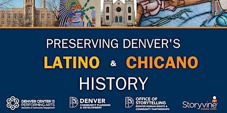 I Am Denver Storytelling Lab: Latino/Chicano Historic Context tickets