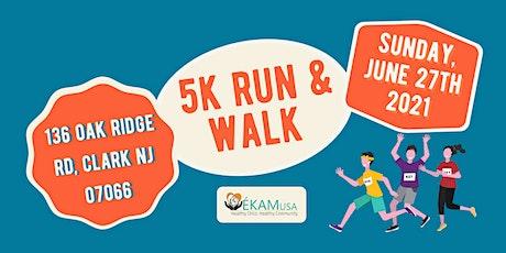EkamUSA Foundation 5K Run & Walk tickets