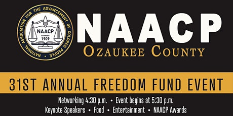 2021 NAACP Ozaukee County Freedom Fund Event tickets