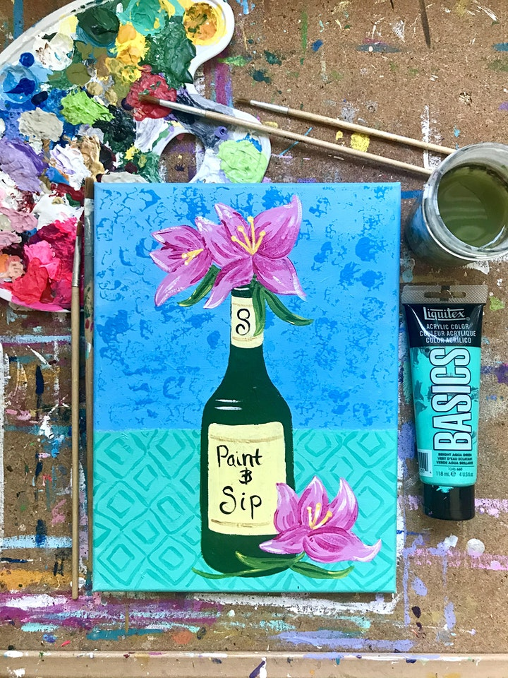 Paint and Sip at Solis Winery image
