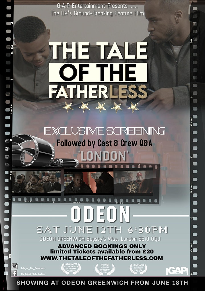 The Tale of The Fatherless - Exclusive Screening (LONDON) image