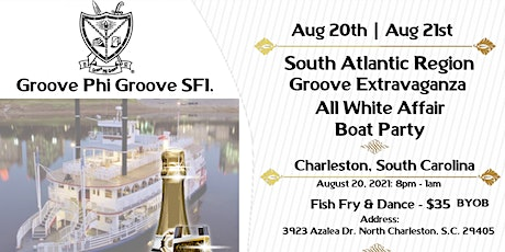South Atlantic Region Groove Extravaganza - All White Affair Boat Party tickets