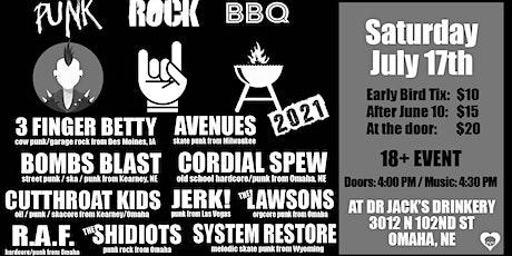Punk Rock BBQ 2021 at Dr Jack's Drinkery tickets