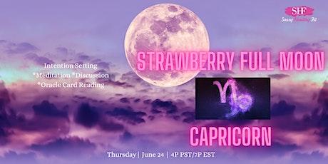 Strawberry Full Moon- Spiritual Circle [FREE] tickets