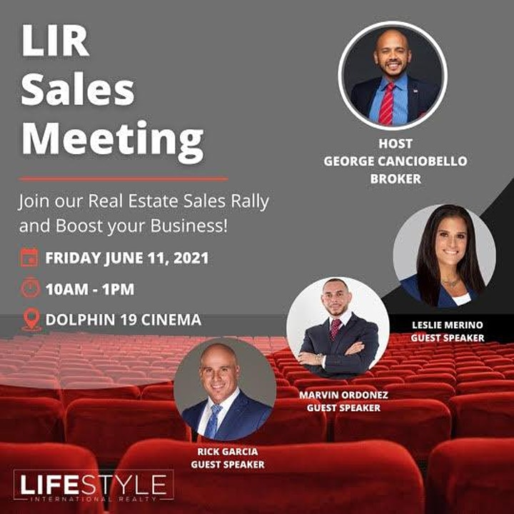 LIR Sales Rally image