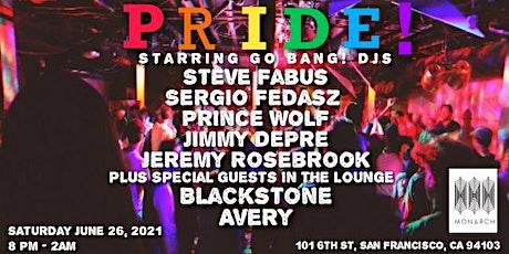 Pride Saturday Night at Monarch tickets