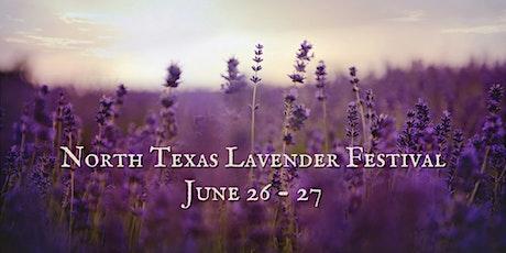 North Texas Lavender Festival tickets