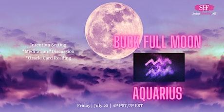 Buck Full Moon- Spiritual Circle [FREE] tickets