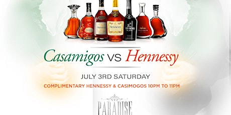 Casamigos vs Hennessy July 4th Weekend tickets