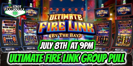 Ultimate Fire Link High Roller Slot Group Pull $500 Buy In tickets