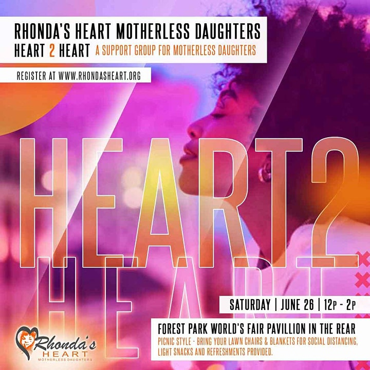 Heart 2 Heart - Support Group for Motherless Daughters image