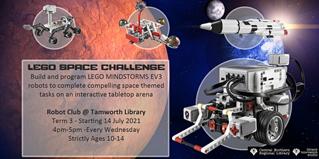 Lego Space Challenge - Term 3 - Ages 10-14 tickets