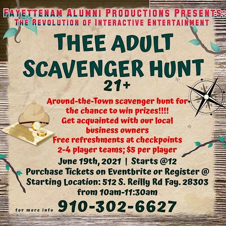 Thee Adult Scavenger Hunt image