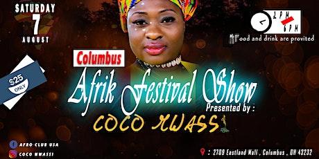 Columbus Afrik Festival tickets