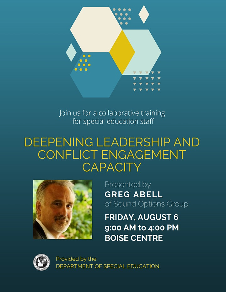 Deepening Leadership and Conflict Engagement Capacity image