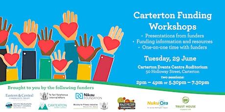 Carterton Funding Workshops tickets