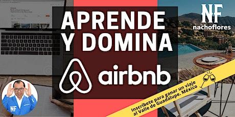 Aprende y Domina Airbnb entradas