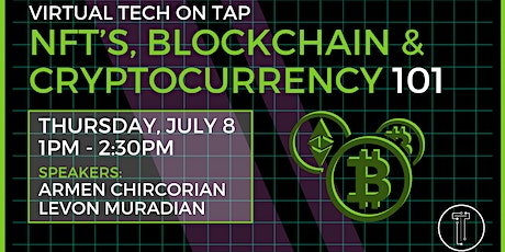 NFT's, Blockchain, & Cryptocurrency 101 tickets