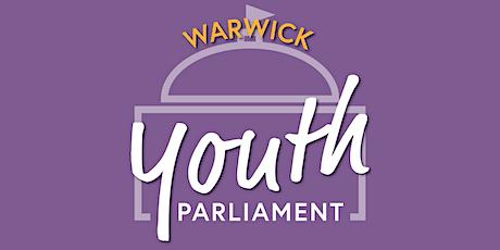 Warwick Youth Parliament tickets