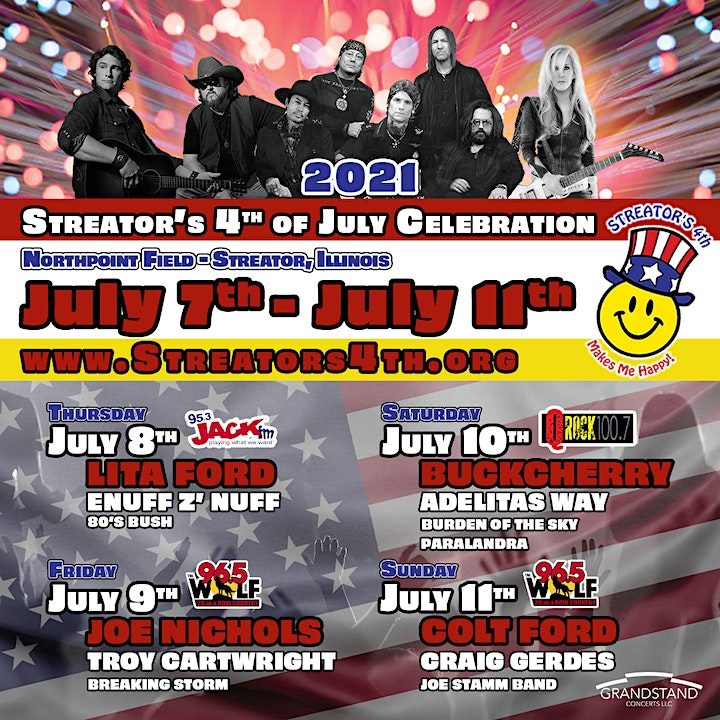 Streator's 4th of July Celebration Concerts image