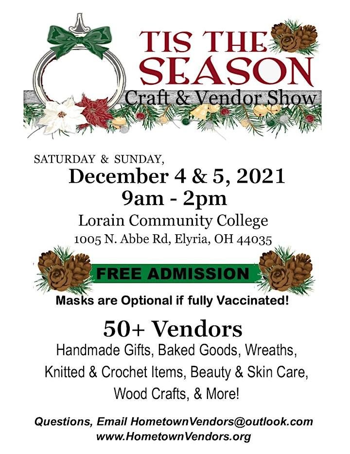 3rd Annual 'Tis the Season Craft & Vendor Show image