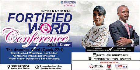 International Fortified Word Conference tickets