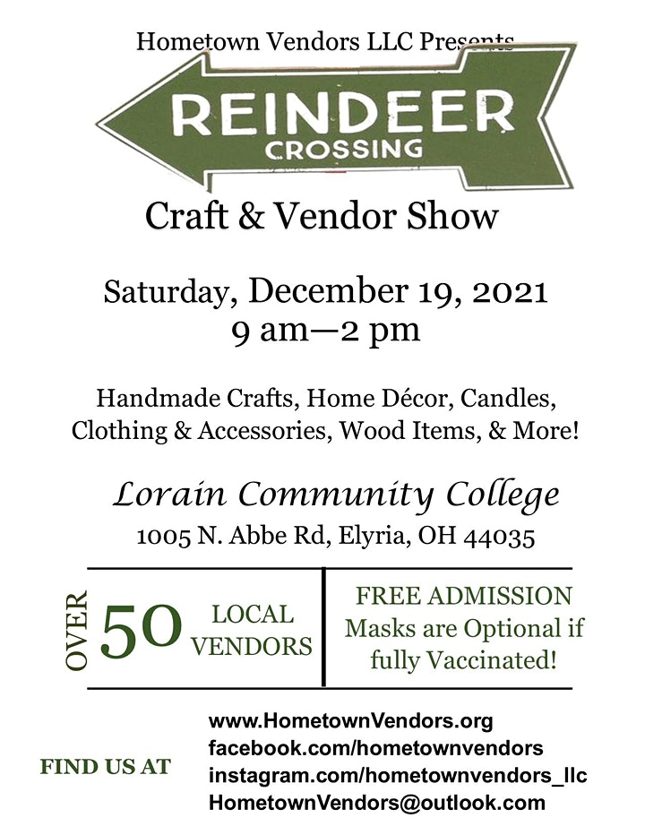 4th Annual Reindeer Crossing Craft & Vendor Show image