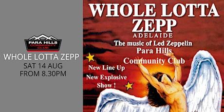 Whole Lotta Zepp Adelaide tickets