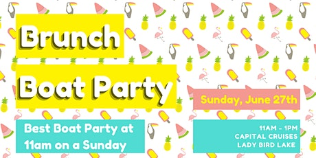 Brunch Boat Party tickets
