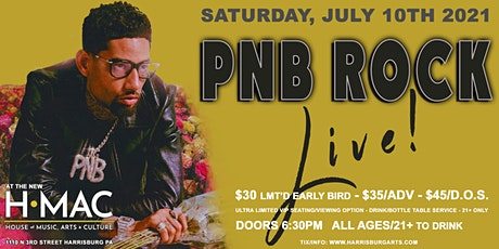 PNB Rock at the Harrisburg Midtown Arts Center tickets