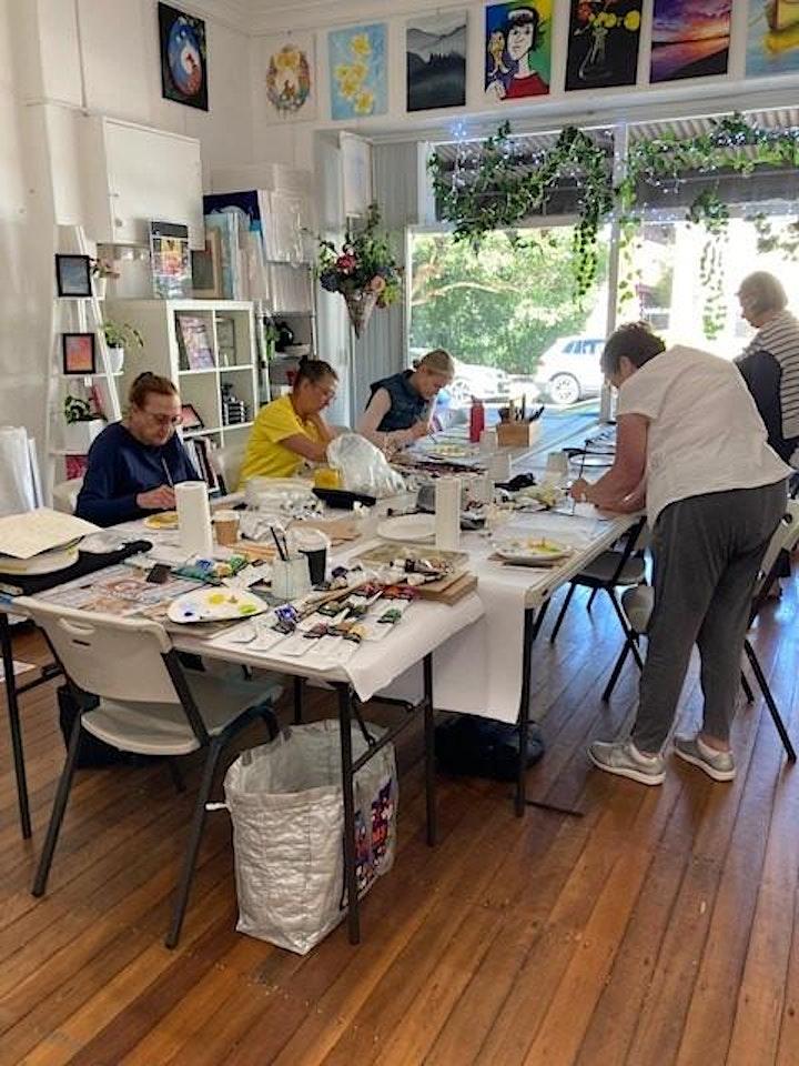 Term 3  ~ Acrylics & Mixed Media - With Karen Atkins  Tuesday mornings image