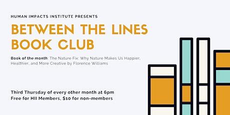 Between the Lines Book Club ingressos