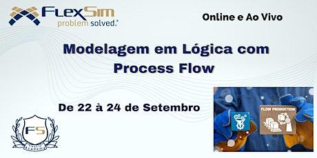 Modelagem em Lógica com Process Flow em Setembro de 2021 ingressos