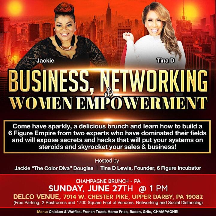 Vip Entrepreneur Champagne  Brunch & Networking Event image