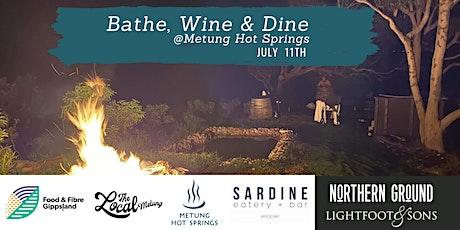 Bathe Wine and Dine @ Metung tickets