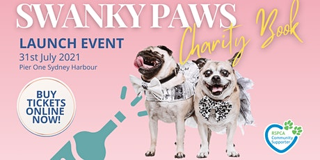 Swanky Paws Charity Book - Launch Event tickets