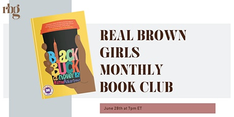 Online Event: June Book Club: Black Buck tickets