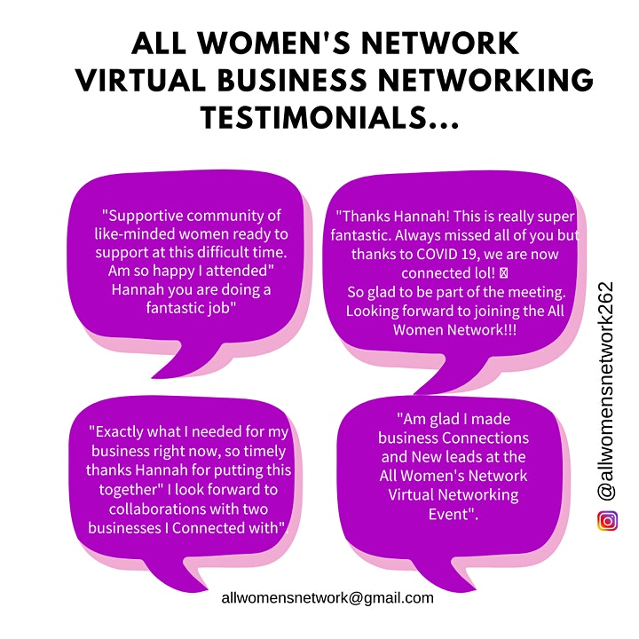Women In Business Virtual Networking Brunch image