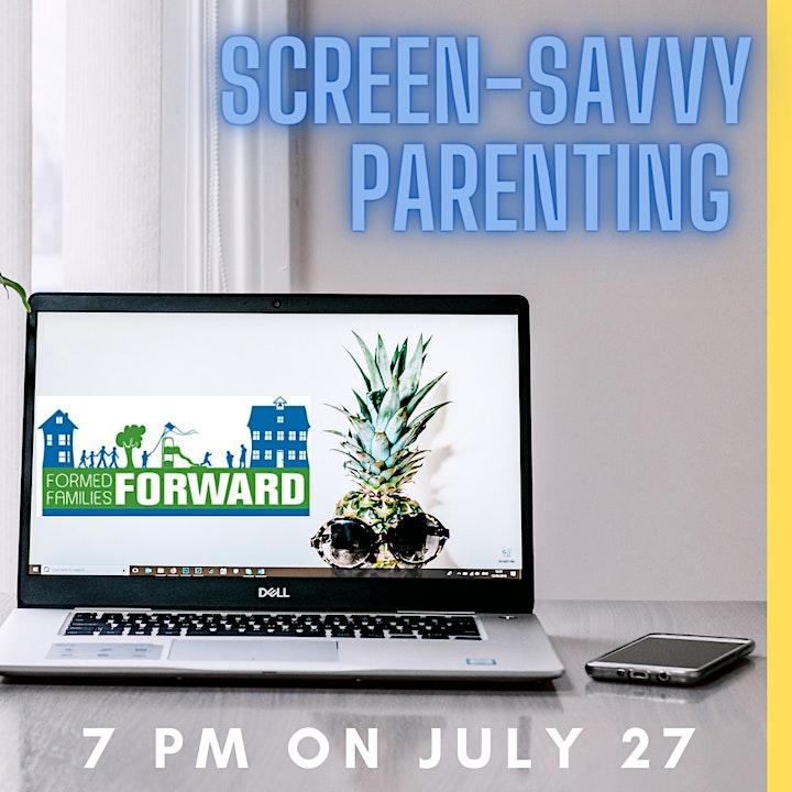 Screen-Savvy Parenting image