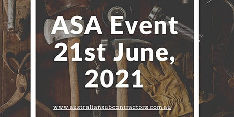 ASA Event - Changes to Casual Employees & Apprentice Incentives tickets