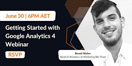 Getting Started with Google Analytics 4 tickets