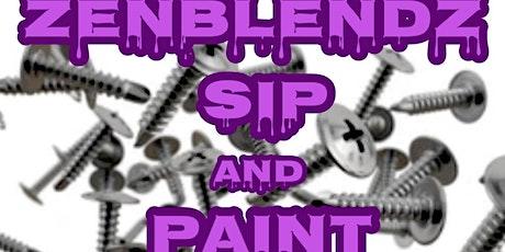 ZenBlendz Sip & Paint (H-Town edition) tickets