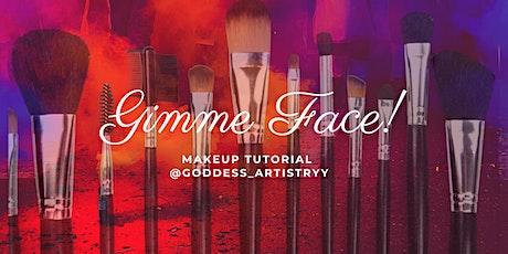 Gimme Face- Full Face Makeup Class tickets