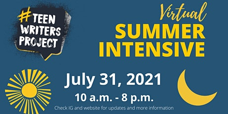 Virtual Summer Writing Intensive for Teens! tickets