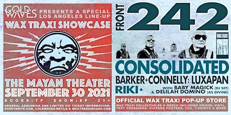 Cold Waves presents: Wax Trax! LA Showcase tickets